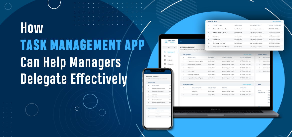 How a Task Management App can Help Managers Delegate Effectively