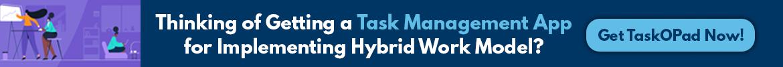 what is hybrid work model